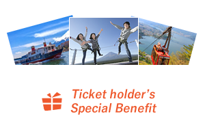 Ticket holder's Special Benefit